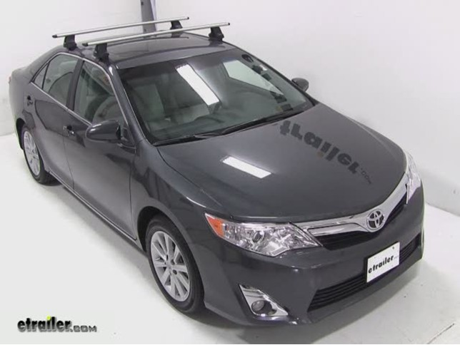 2012 Toyota Camry Thule Roof Rack Fit Kit For Traverse
