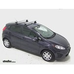 Thule AeroBlade Traverse Roof Rack Installation - 2013 Ford Fiesta