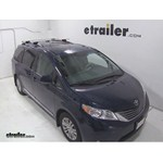 Thule AeroBlade Traverse Roof Rack Installation - 2013 Toyota Sienna