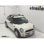 Thule AeroBlade Traverse Roof Rack Installation - 2005 Mini Cooper