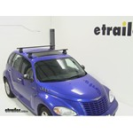 Thule Traverse Roof Rack Installation - 2004 Chrysler PT Cruiser