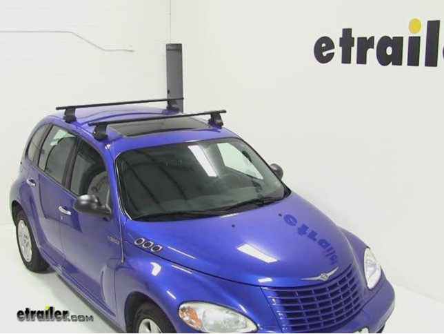 Thule Roof Rack For Chrysler Pt Cruiser 2004 Etrailer Com