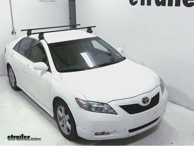 Thule Traverse Roof Rack Installation 2008 Toyota Camry Etrailer Com