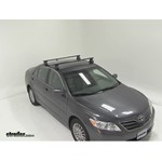 Thule Traverse Roof Rack Installation - 2010 Toyota Camry
