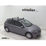 Thule Traverse Roof Rack Installation - 2010 Volkswagen Golf