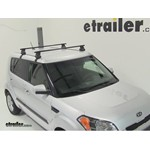 Thule Traverse Roof Rack Installation - 2011 Kia Soul