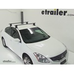 Thule Traverse Roof Rack Installation - 2011 Nissan Altima