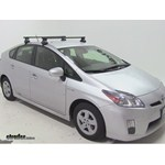 Thule Traverse Roof Rack Installation - 2011 Toyota Prius