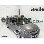 Thule Traverse Roof Rack Installation - 2012 Chevrolet Malibu