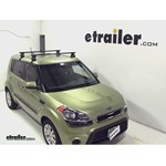 Thule Traverse Roof Rack Installation - 2012 Kia Soul