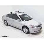 Thule Traverse Roof Rack Installation - 2012 Nissan Altima
