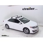 Thule Traverse Roof Rack Installation - 2012 Toyota Camry