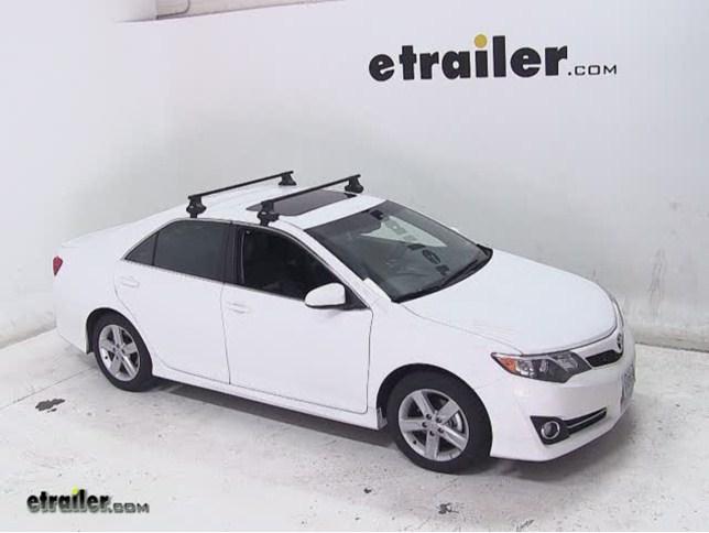 Thule Traverse Roof Rack Installation 2017 Toyota Camry Etrailer Com