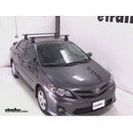 Video install thule traverse loadbar 2012 toyota corolla thlb50