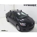Thule Traverse Roof Rack Installation - 2012 Toyota Yaris