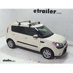 Thule Traverse Roof Rack Installation - 2013 Kia Soul