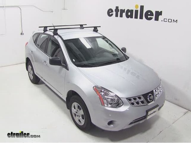 Thule Traverse Roof Rack Installation   2013 Nissan Rogue Video |  Etrailer.com
