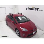 Thule Traverse Roof Rack Installation - 2013 Toyota Prius