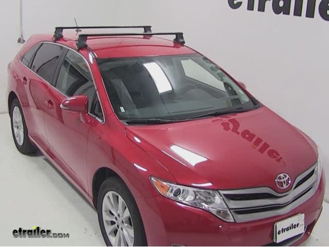 Toyota Venza Thule Square Load Bars Steel 50 Quot Qty 2