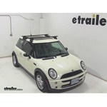 Thule Traverse Roof Rack Installation - 2005 Mini Cooper