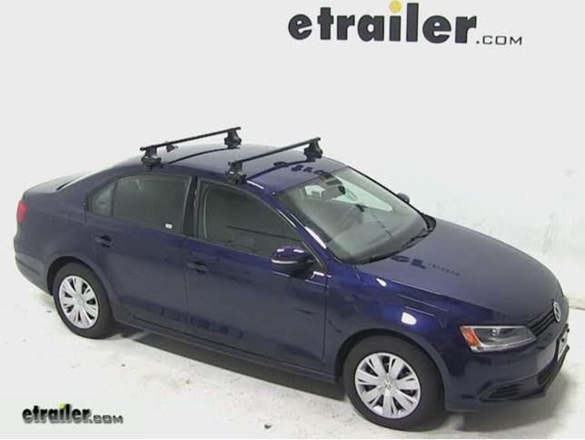 Thule Roof Rack For 2009 Volkswagen Jetta Etrailer Com