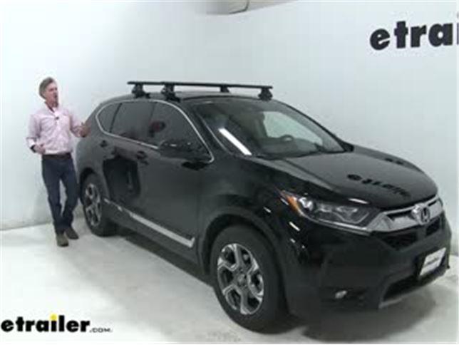 Thule Wingbar Evo Crossbars Installation 2019 Honda Cr V Video Etrailer Com