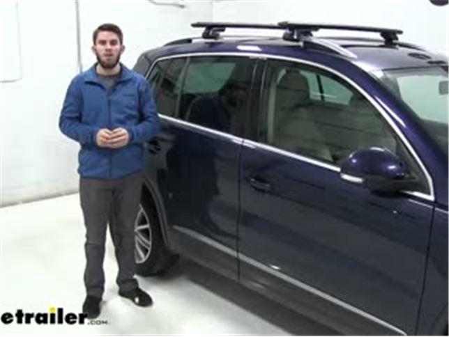 LOCKING THULE EVO ROOF BARS ALUMINIUM WING BARS FITS VW TIGUAN WITH RAILS 2016/>