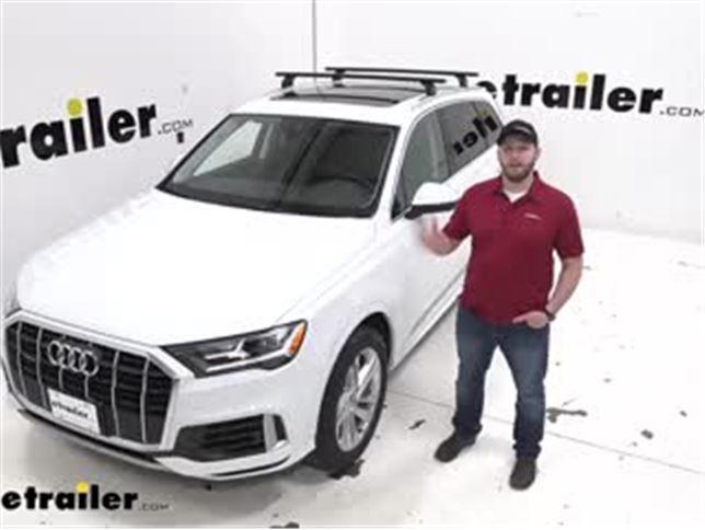 Thule Wingbar Evo Crossbars Installation 2020 Audi Q7 Video Etrailer Com