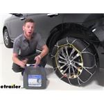 Titan Alloy Snow Tire Chains Installation - 2018 Ford Expedition