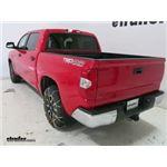 Titan Alloy Snow Tire Chains Installation - 2016 Toyota Tundra