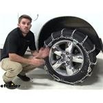 Titan Chain Snow Tire Chains Installation - 2019 Ram 1500 Classic