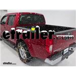 Titan Alloy Snow Tire Chains Installation - 2013 Nissan Frontier