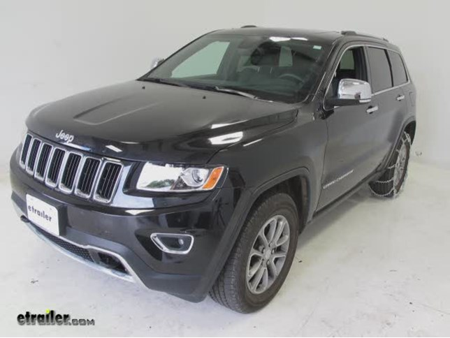 Superior Today On This 2014 Jeep Grand Cherokee, Weu0027re Going To Show You The Titan  Chain Snow Tire Chains With Cams, Part Number TC2828CAM.