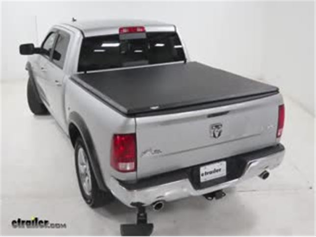 Tonno Pro Hard Fold Tonneau Cover Installation 2016 Ram 1500 Video Etrailer Com
