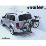 Pro Series Eclipse 4 Hitch Bike Rack Review - 2008 Dodge Nitro