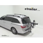 Pro Series Eclipse 4 Hitch Bike Rack Review - 2011 Honda Odyssey