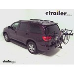 Pro Series Eclipse 4 Hitch Bike Rack Review - 2012 Toyota Sequoia