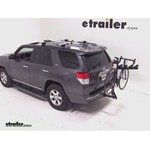 Pro Series Eclipse 4 Hitch Bike Rack Review - 2012 Toyota 4Runner