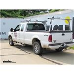 Thule TracRac SR Sliding Truck Bed Ladder Rack with Cantilever Installation - 2004 Ford F-250 and F-