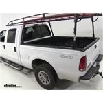 Thule TracRac Steel Rac Truck Bed Ladder Rack Installation - 2005 Ford F-250 and F-350 Super Duty