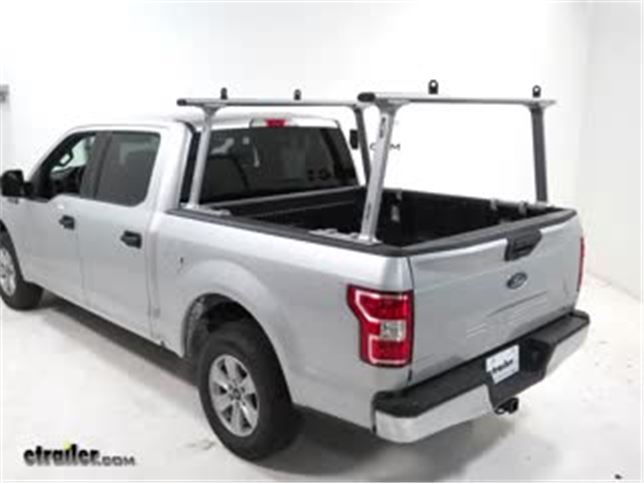 Ford F150 Rack >> Thule Tracrac Tracone Ladder Rack W Cantilever Fixed Mount 800 Lbs Silver