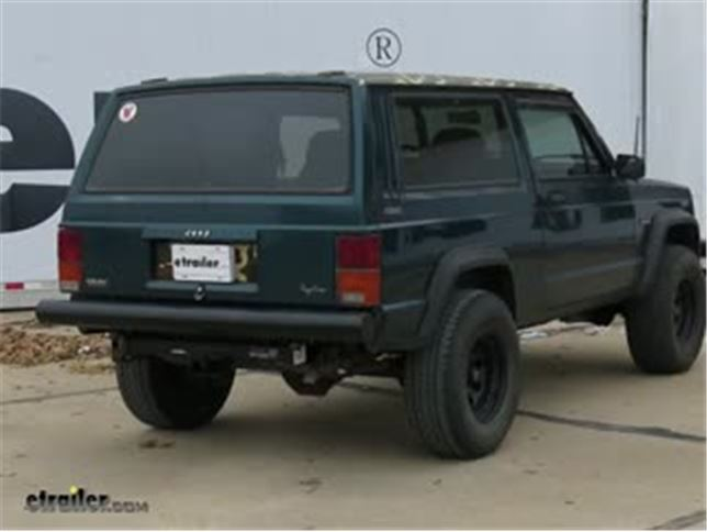 Trailer Hitch Installation 1995 Jeep Cherokee Video Etrailer Com