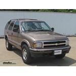 Trailer Hitch Installation - 1996 Chevrolet Blazer - Curt