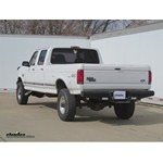 Heavy-Duty Trailer Hitch Installation - 1997 Ford F-350 - B&W