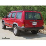 Trailer Hitch Installation - 1998 Jeep Cherokee - Draw-Tite