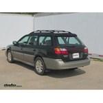 Trailer Hitch Installation - 2000 Subaru Outback Wagon - Curt