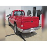 Install Trailer Hitch Dodge Dakota C on 1997 Dodge Dakota Ladder