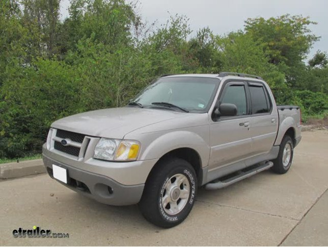 2002 Ford Explorer Sport Trac Towing Capacity