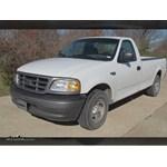 Trailer Hitch Installation - 2002 Ford F-150 - Curt