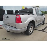 Trailer Hitch Installation - 2003 Ford Explorer Sport Trac - Draw-Tite